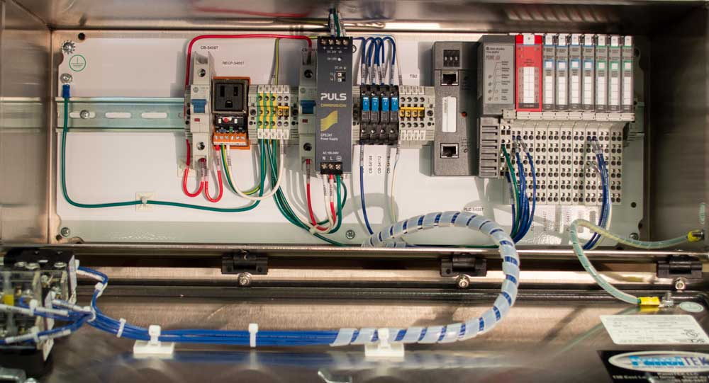 PanelTEK customer experiences include designing new process control system.