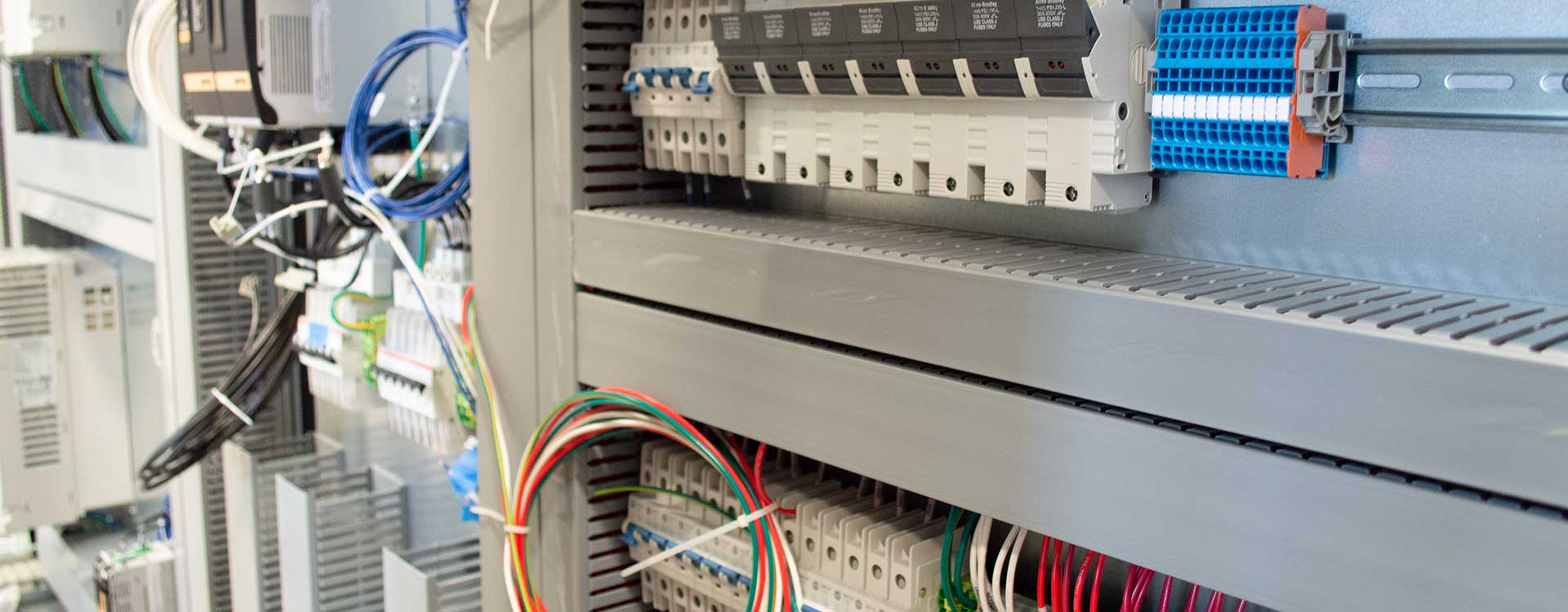 Outsourced industrial control panels to PanelTEK.