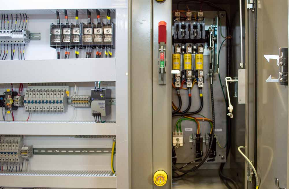 NEC industrial control panels manufactured in Wisconsin