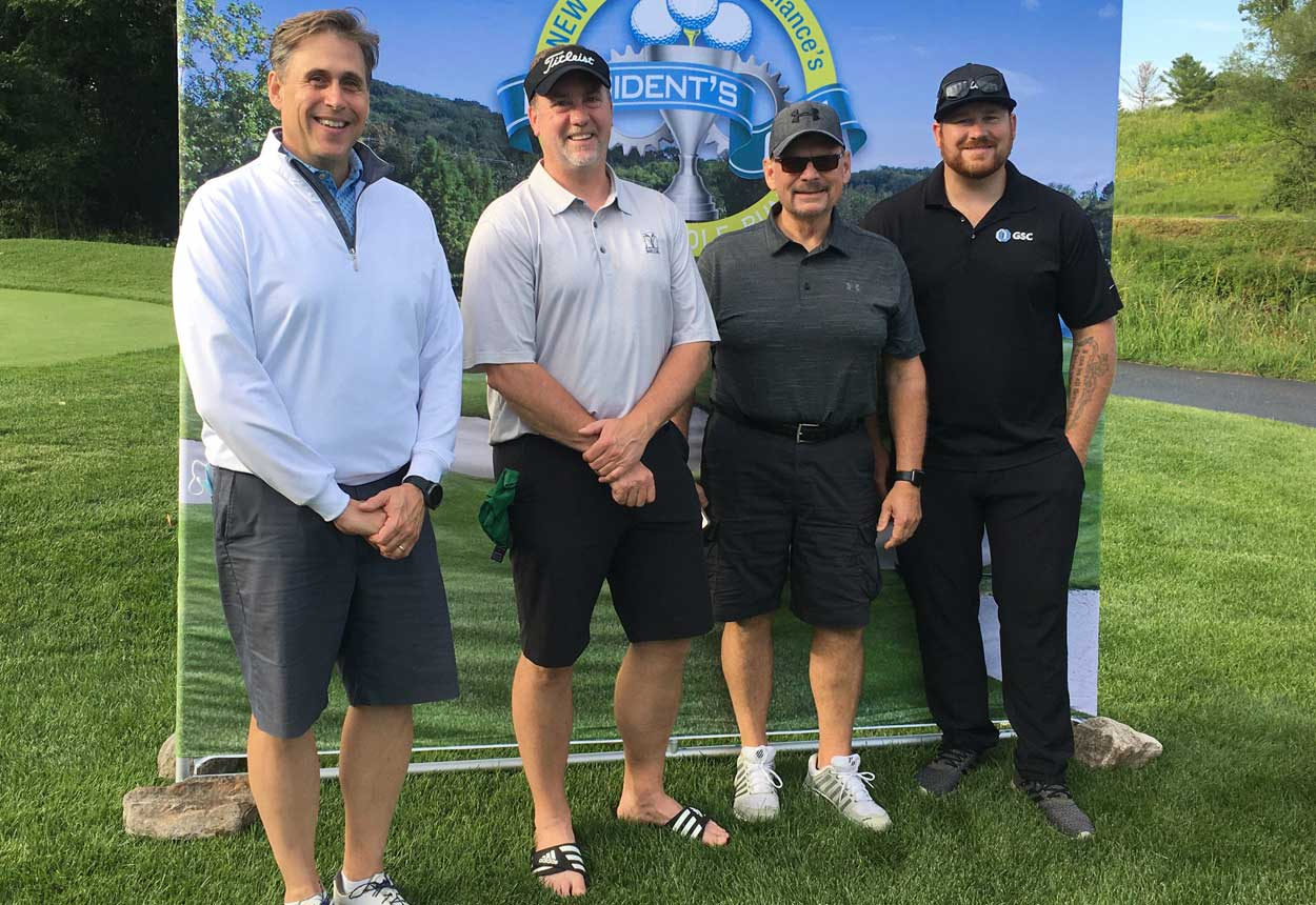 PanelTEK president, Mark Kallas, participates in NEW Manufacturing Alliance 3rd Annual President's Cup Scholarship Golf Scramble.