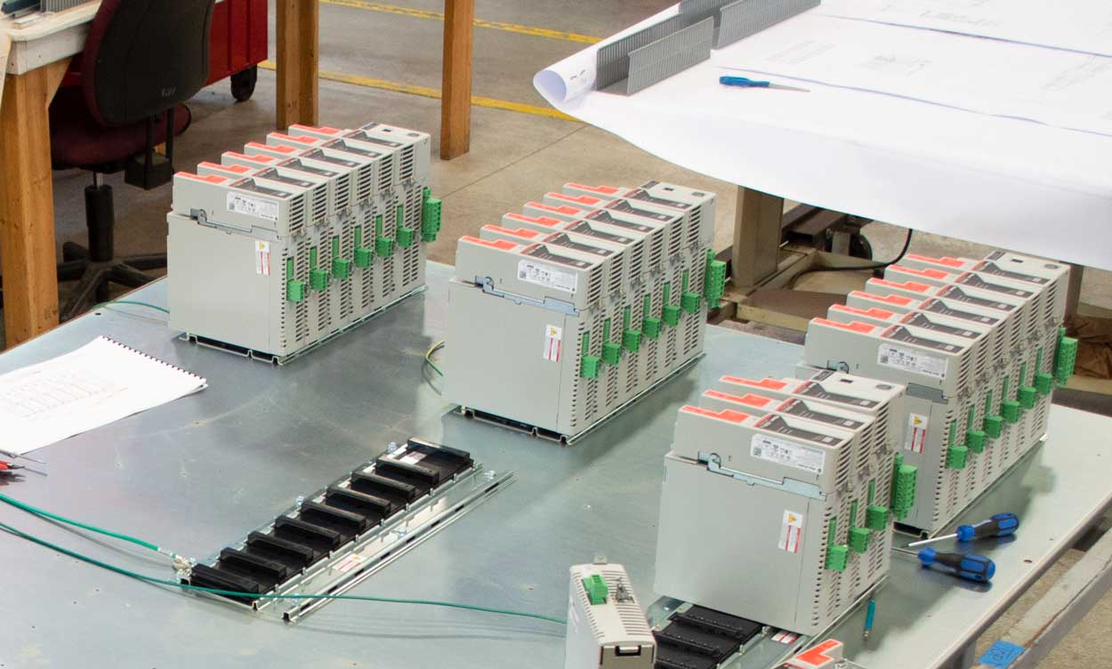 PanelTEK engineers take care of all your control panel design needs.