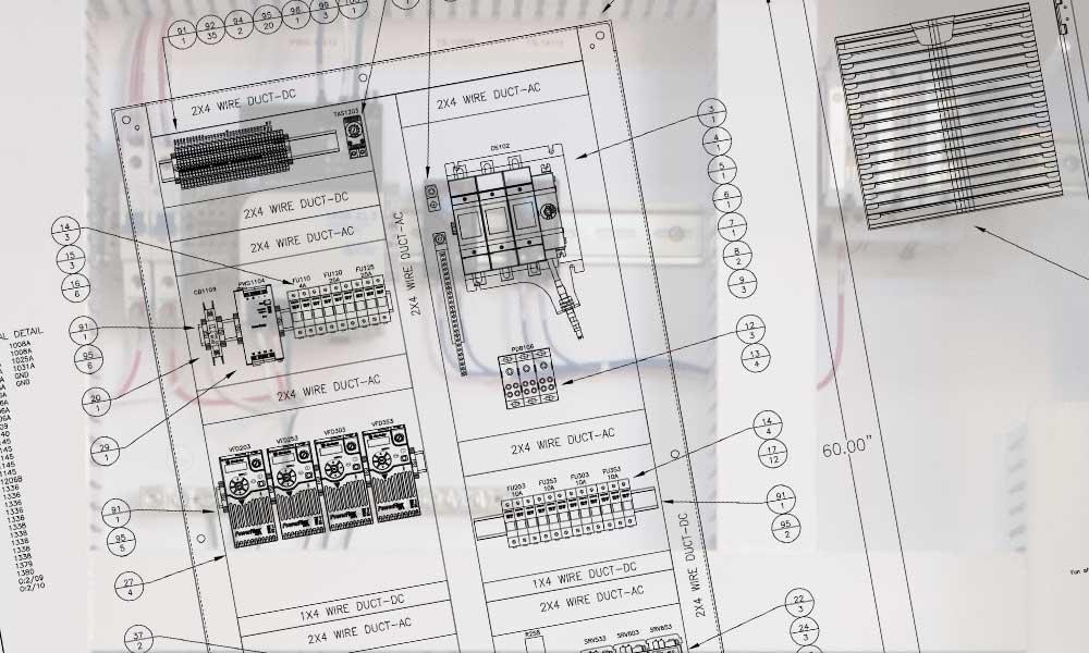 Process control system documentation prepared by PanelTEK